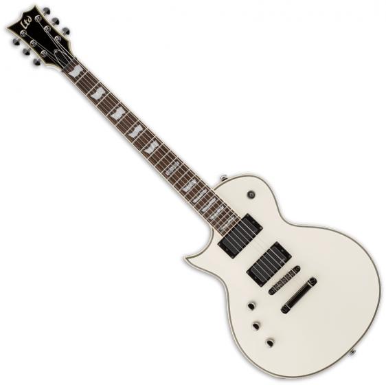 ESP LTD EC-401 Left-Handed Electric Guitar Olympic White B Stock sku number LEC401OWLH.B