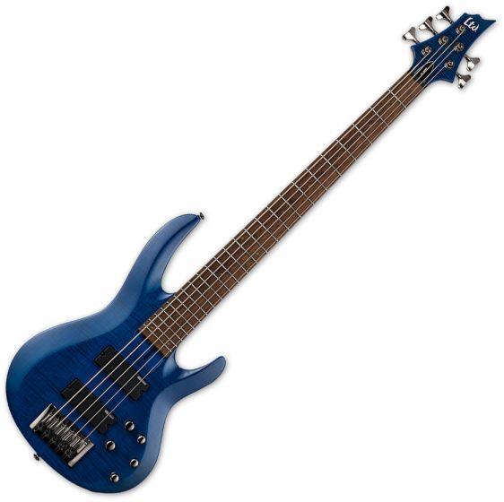 ESP LTD B-205FM Electric Bass See Thru Blue B Stock LB205FMSTB.B