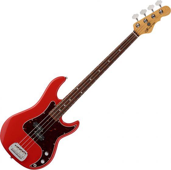 G&L Fullerton Deluxe LB-100 Electric Bass Fullerton Red sku number FD-LB1-FLR-CR