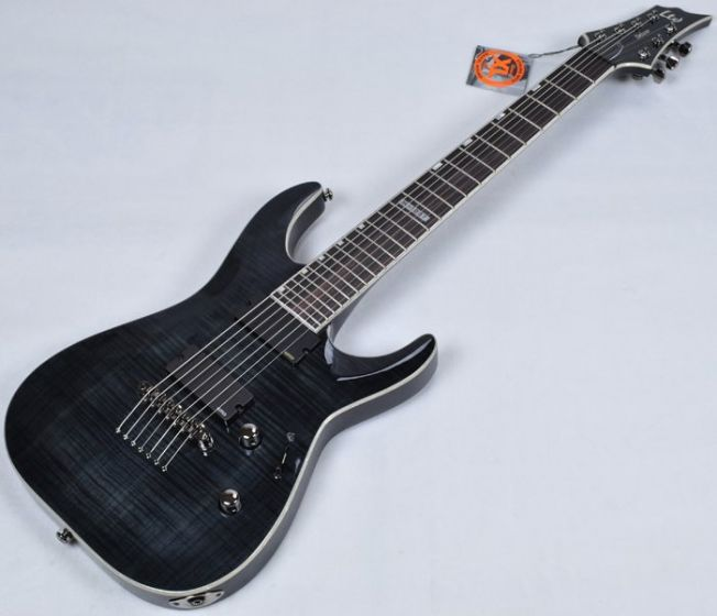 ESP LTD Deluxe H-1007 Electric Guitar in See Through Black B-Stock LH1007STBLK.B
