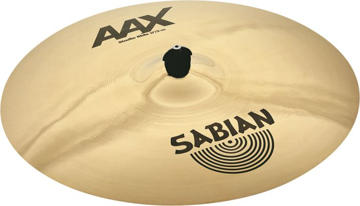 "Sabian 20"" AAX Studio Ride Brilliant Finish 22010XB"