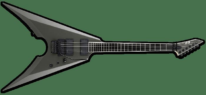 ESP E-II MK-I Mille Petrozza Electric Guitar in Military Green Satin EIIMKIMGS