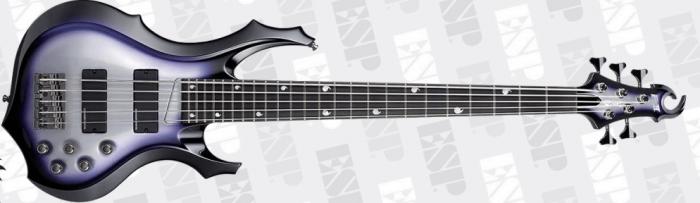 ESP E-II Doris Yeh DY5 SSB Signature Bass Guitar B Stock sku number EIIDY5PSSB.B