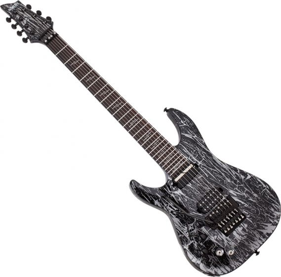 Schecter C-7 FR S Silver Mountain Left Handed Electric Guitar SCHECTER1468