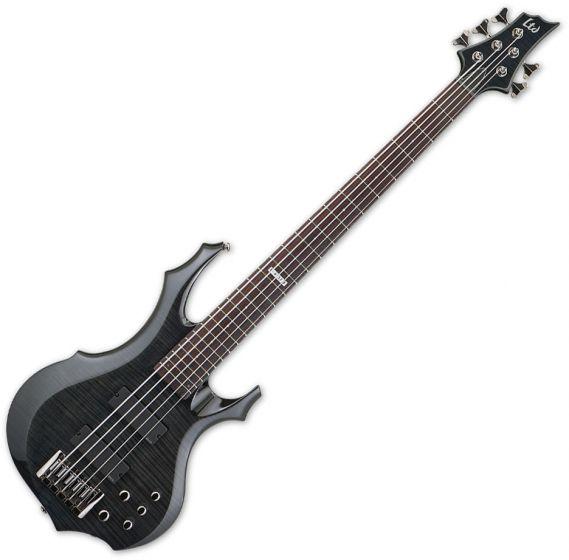 ESP LTD F-415FM Bass in See-Through Black sku number LF415FMSTBLK