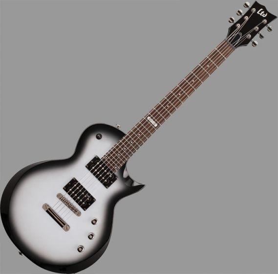 ESP LTD EC-50 Left Handed Guitar in Silver Sunburst Finish sku number LEC50SSBLH