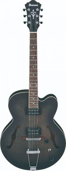 Ibanez AF55 TKF AF Artcore 6 String Transparent Black Flat Hollow Body Electric Guitar sku number AF55TKF