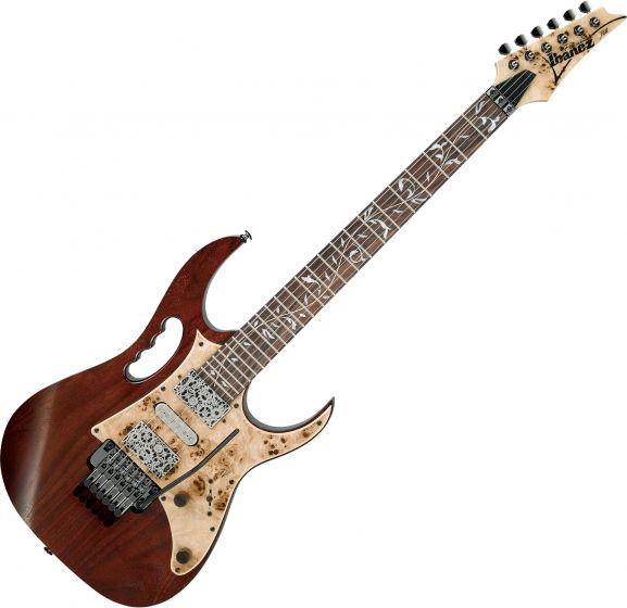 Ibanez Steve Vai Signature JEM77WDP Electric Guitar Charcoal Brown Low Gloss JEM77WDPCNL