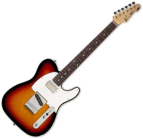 ESP Ron Wood 3TB Guitar with Case B Stock sku number ERON3TB.B