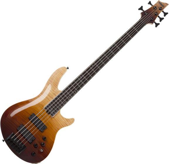 Schecter SLS ELITE-5 Electric Bass in Antique Fade Burst sku number SCHECTER1393