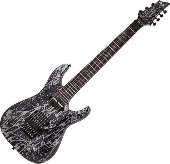 Schecter C-7 FR S Silver Mountain Electric Guitar SCHECTER1463
