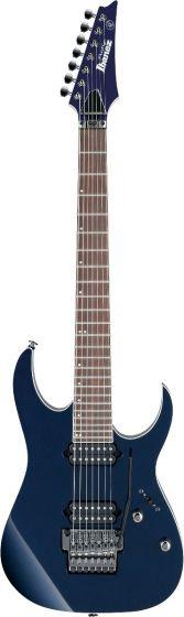 "Ibanez RG2027XL DTB RG Prestige 7 String 27"" scale Dark Tide Blue Electric Guitar w/Case sku number RG2027XLDTB"
