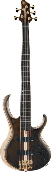 Ibanez BTB1825 Premium 5 String Natural Low Gloss Bass Guitar BTB1825NTL
