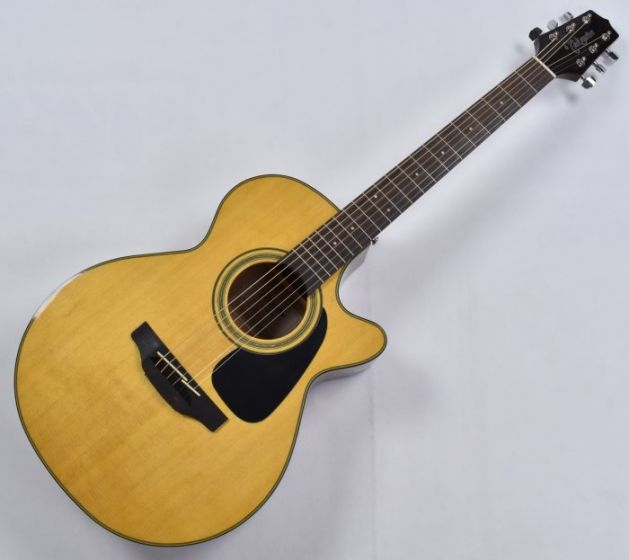 Takamine GF30CE-NAT G-Series G30 Cutaway Acoustic Electric Guitar in Natural Finish B-Stock CC130605193 TAKGF30CENAT.B 5193