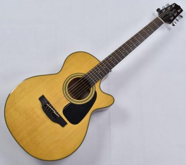 Takamine GF30CE-NAT G-Series G30 Cutaway Acoustic Electric Guitar in Natural Finish B-Stock CC130605193 TAKGF30CENAT.B 5193