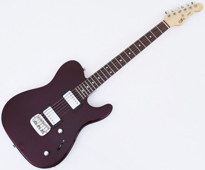 G&L USA ASAT HH RMC Custom Guitar in Ruby Red Metallic. New! AST HHRMC RRM