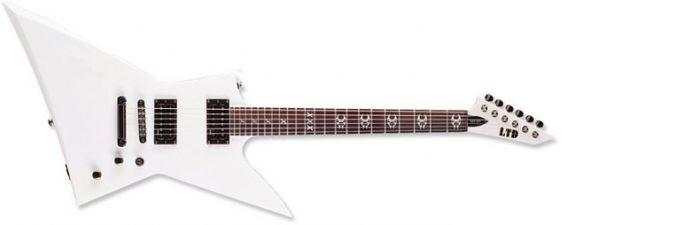ESP LTD Max Cavalera MAX-200 in Snow White LMAX200SW