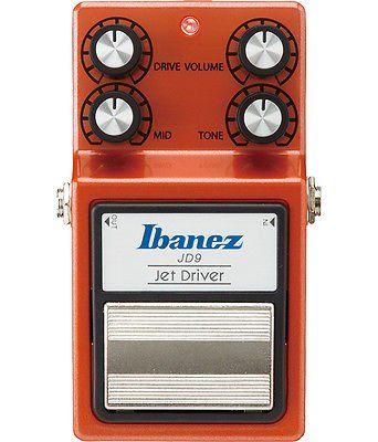 Ibanez JD9 Jet Driver Overdrive Pedal JD9