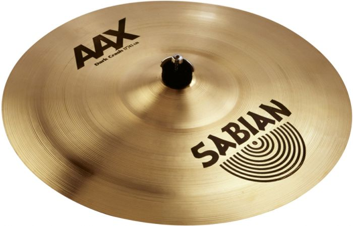 "Sabian 17"" AAX Dark Crash Brilliant Finish 21768XB"