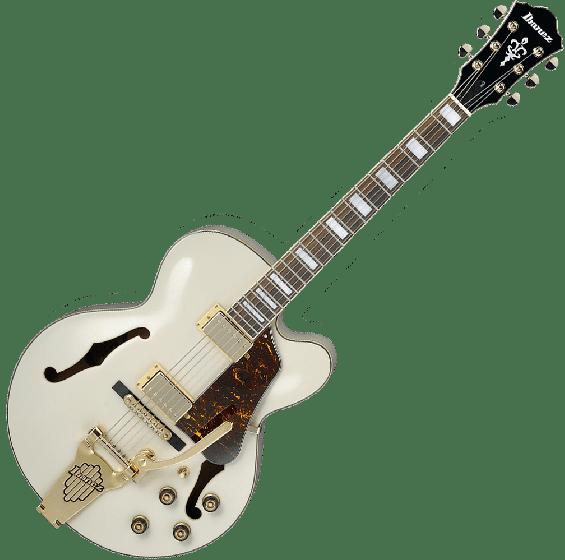 Ibanez Artcore AF75TDGIV Hollow Body Electric Guitar in Ivory Finish AF75TDGIV