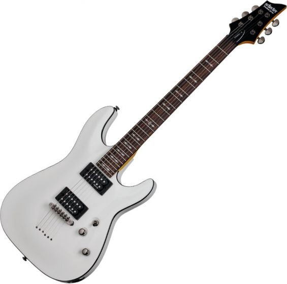 Schecter Omen-6 Electric Guitar In Vintage White Finish SCHECTER2061