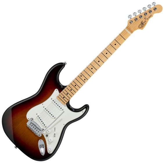G&L S-500 USA Fullerton Deluxe in 3 Tone Sunburst sku number FD-S500-3TS-MP