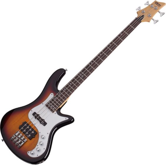 Schecter Stiletto Vintage-4 Electric Bass 3-Tone Sunburst SCHECTER2524