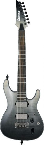 Ibanez S71AL BML S Axion Label 7 String Black Mirage Gradation Low Gloss Electric Guitar S71ALBML