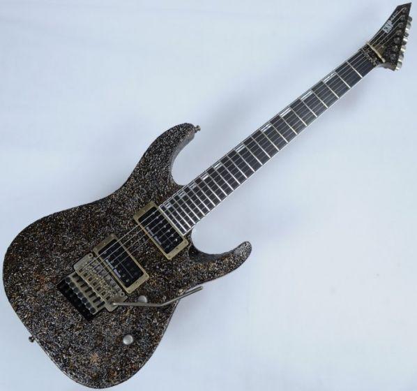 ESP M-II 7 String Exhibition Japan Custom Shop Guitar in Rusty Iron 3961EX1621