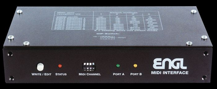 ENGL Amps Z-7 MIDI INTERFACE (E660/E610/E360/E930) sku number Z7