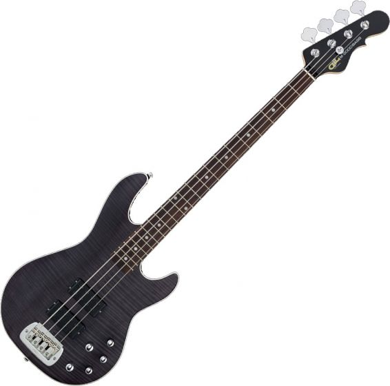 G&L Tribute M-2000 GTS Electric Bass Trans Black TI-M20-C38R43R00