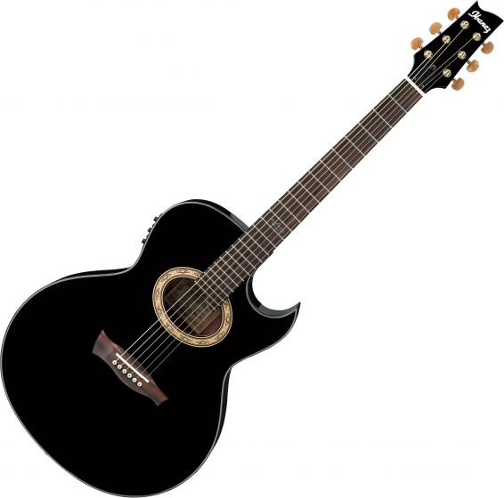 Ibanez Steve Vai EP5 Signature Acoustic Electric Guitar Black Pearl EP5BP