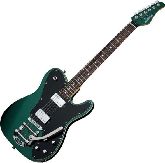 Schecter PT Fastback II B Electric Guitar in Dark Emerald Green Finish SCHECTER2210