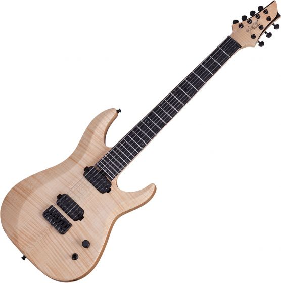 Schecter Signature Keith Merrow KM-7 MK-II Electric Guitar Natural Pearl SCHECTER251