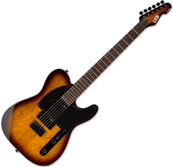 ESP LTD TE-200 Electric Guitar in Tobacco Sunburst LTE200RTSB