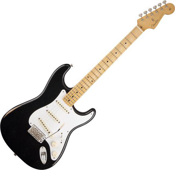 Fender Road Worn '50s Stratocaster Electric Guitar Black 131012306