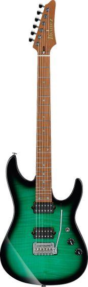 Ibanez Marco Sfogli Signature MSM100 FGB Fabula Green Burst Electric Guitar w/Case MSM100FGB