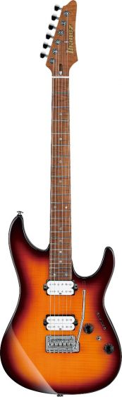 Ibanez Limited AZ2402FF RBB AZ Prestige Regal Brown Burst Electric Guitar w/Case sku number AZ2402FFRBB