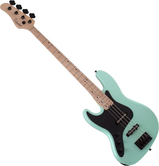 Schecter J-5 Left Handed Electric Bass in Sea foam Green sku number SCHECTER2915