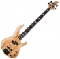 ESP LTD RB-1004SM Solid Spalted Maple Top Electric Bass Natural Satin B Stock sku number LRB1004SMNS.B