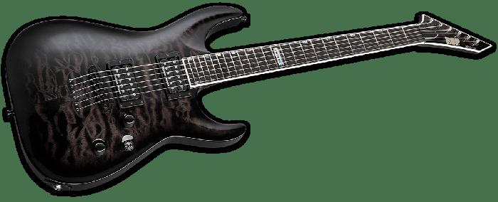 ESP USA Horizon-II Electric Guitar in See Thru Black Sunburst Duncan sku number EUSHORIISTBLKSBD
