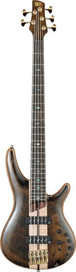Ibanez SR Premium SR1825 5 String Natural Low Gloss Bass Guitar sku number SR1825NTL