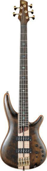 Ibanez SR Premium SR1825 5 String Natural Low Gloss Bass Guitar SR1825NTL