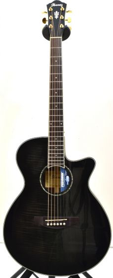 Ibanez AEG240 Thinline Acoustic Electric Trans Black Sunburst B-Stock 1185 AEG240TKS.B 1185