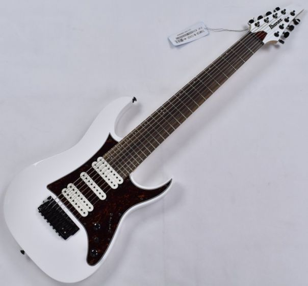 Ibanez TAM10-WH Tosin Abasi 8 String Electric Guitar in White Finish B-Stock TAM10WH.B