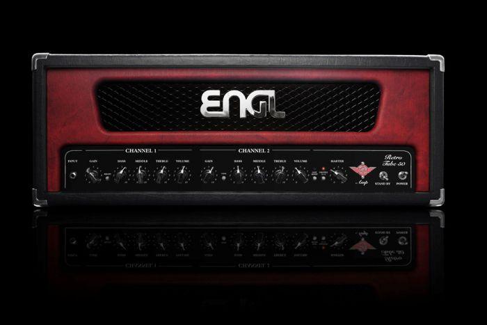 ENGL Amps RETRO E762 50 Watt HEAD (incl. black, red, & white frames) sku number E762