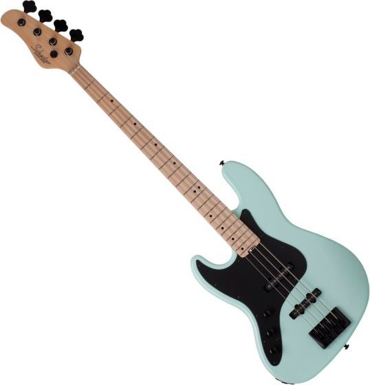 Schecter J-4 Left Handed Electric Bass in Sea foam Green sku number SCHECTER2914
