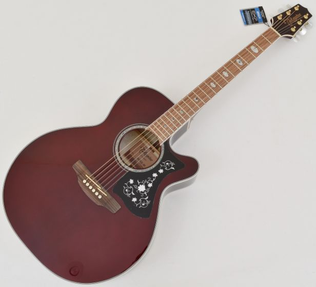 Takamine GN75CE NEX Acoustic Electric Guitar Wine Red B Stock sku number TAKGN75CEWR.B
