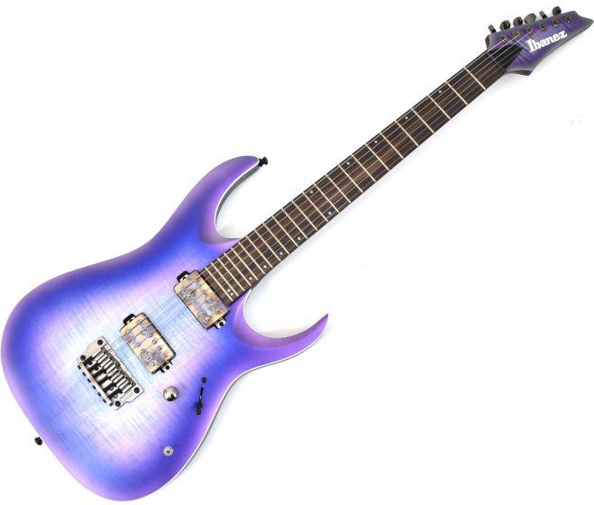 Ibanez RGA61AL IAF RGA Axion Label 6 String Indigo Aurora Burst Flat Electric Guitar sku number RGA61ALIAF