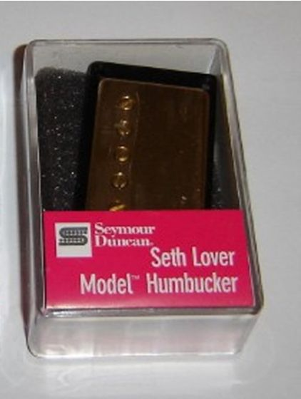 Seymour Duncan Humbucker SH-55B Seth Lover Model 4-Conductor Bridge Pickup Gold Cover 11101-21-Gc4C